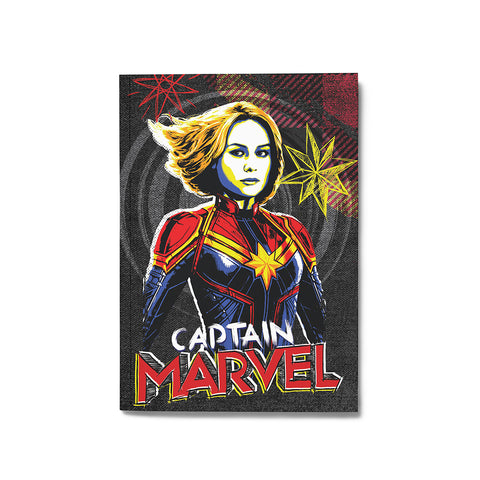 Captain Marvel Notebook - Posterboy