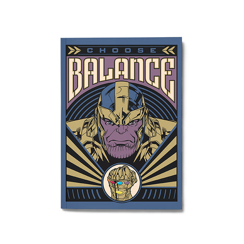 Thanos Notebook - Posterboy