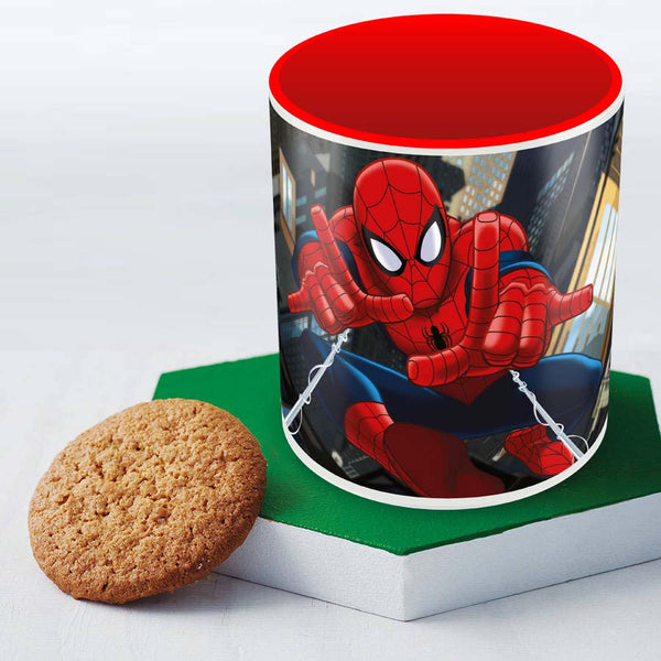 Spider-Man charging - Posterboy - coffee mug