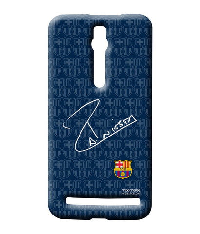 Autograph Iniesta - Posterboy