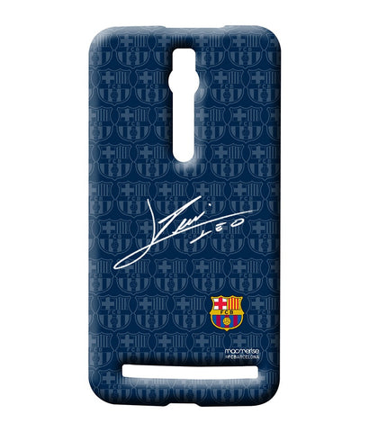 Autograph Messi - Sublime Case for Asus Zenfone 2 - Posterboy