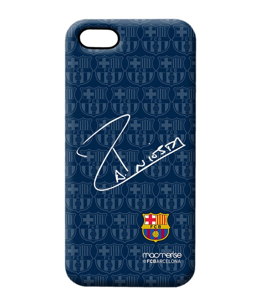 Autograph Iniesta - Pro Case for iPhone 5/5S - Posterboy