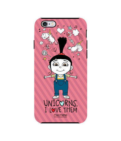 Agnes Unicorn Love - Tough Case for iPhone 6S Plus - Posterboy