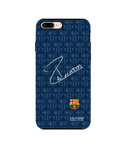 Autograph Iniesta - Tough Case for iPhone 7 Plus - Posterboy
