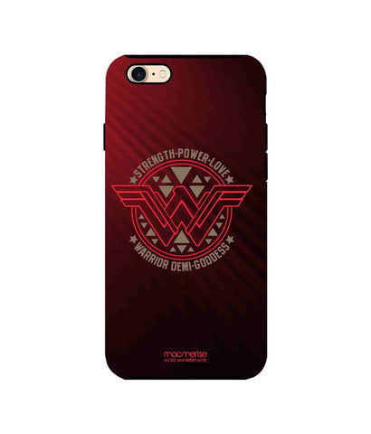 Wonder Woman Stamp - Tough Case for iPhone 7