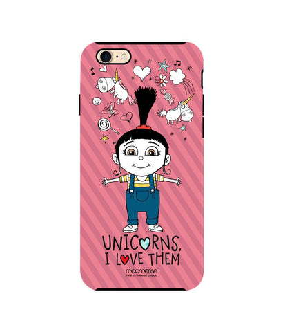 Agnes Unicorn Love - Tough Case for iPhone 7 - Posterboy