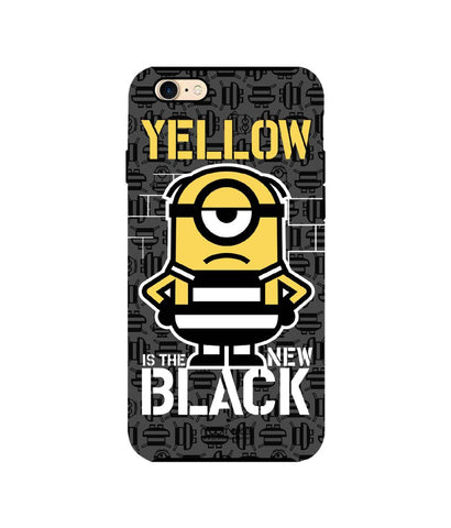 Yellow Black - Tough Case for iPhone 7 - Posterboy