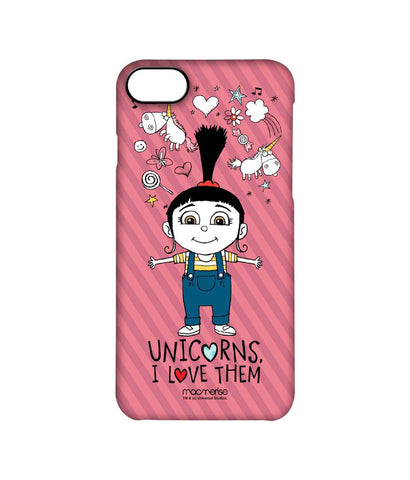 Agnes Unicorn Love - Pro Case for iPhone 7 - Posterboy