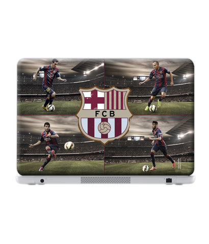 "Team FCB - Skin for 14"" Laptops (30.3 cm X 23.6 cm) - Posterboy"