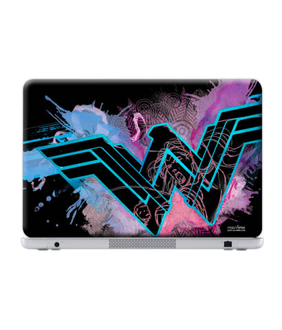 "Wonder Woman Splash - Skin for Generic 14"" Laptops (30.3 cm X 23.6 cm) - Posterboy"