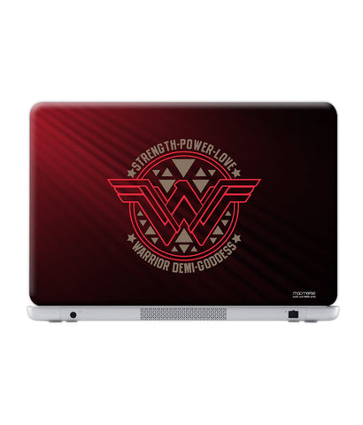 "Wonder Woman Stamp - Skin for Generic 17"" Laptops (38.6 cm X 25.1 cm)"