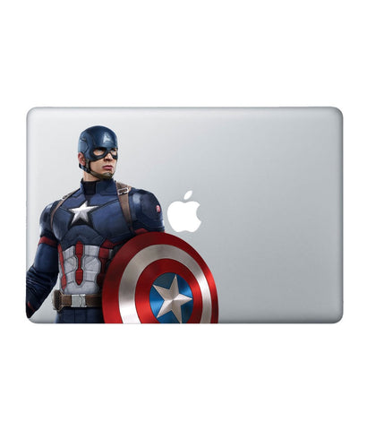 "Captain Stance - Decal for Macbook 13"" Retina - Posterboy"