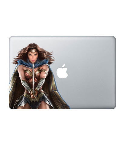 "Wonder Woman Attack - Decal for Macbook 15"" Retina - Posterboy"