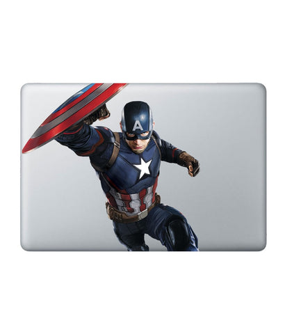 "Hail Captain - Decal for Macbook 15"" Retina - Posterboy"