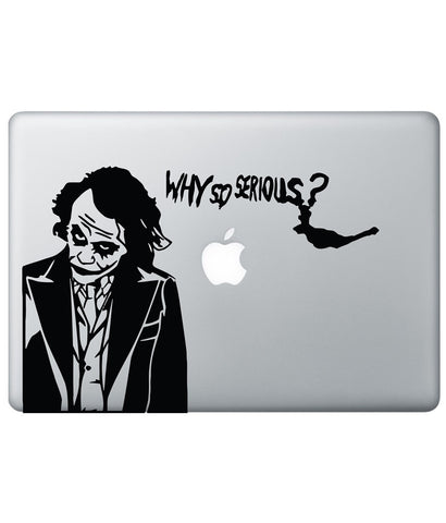 "Why so Serious - Decal for Macbook 13"" Retina - Posterboy"