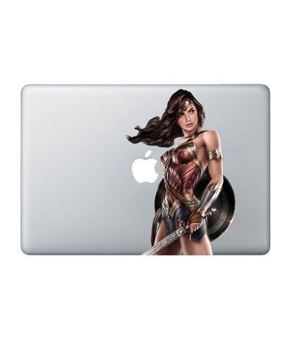 "Wonder Woman Pose - Decal for Macbook 11"" - Posterboy"