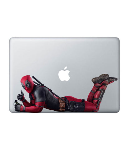 "Good Luck Deadpool - Decal for Macbook 11"" - Posterboy"