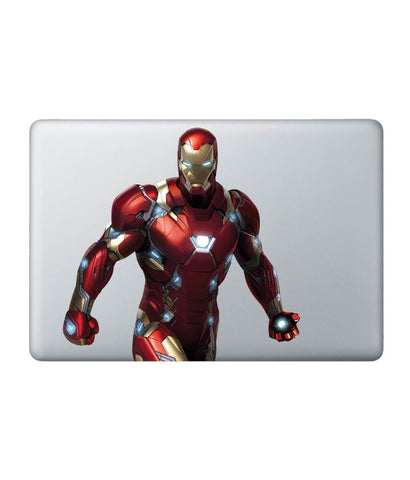 Here comes Ironman - Decal for Macbook 11""