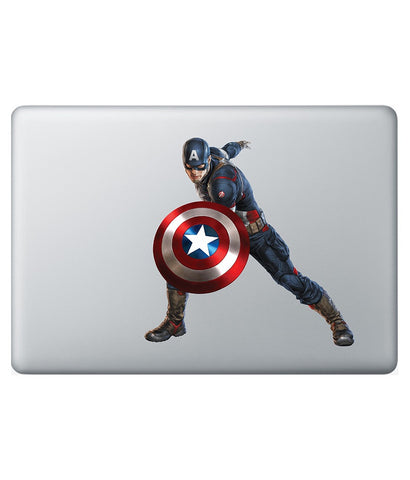 "Captain Stance - Decal for Macbook 13"" - Posterboy"