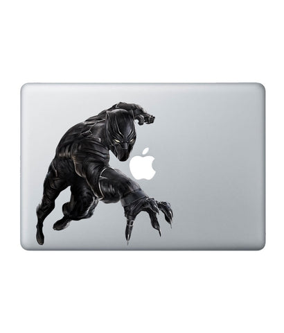Black Panther Attack - Decal for Macbook 13""