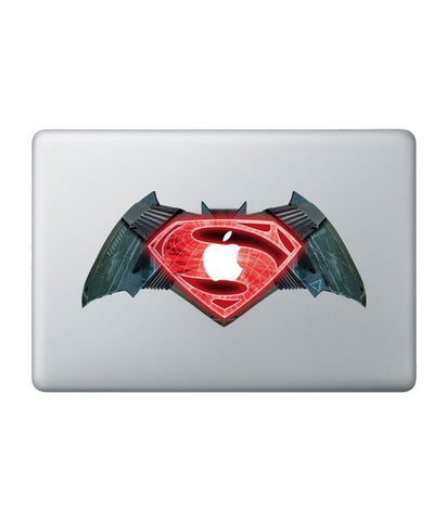 "Batman vs Superman - Decal for Macbook 15"" - Posterboy"