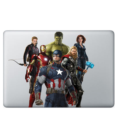 "Assemble the Avengers - Decal for Macbook 15"" Retina - Posterboy"
