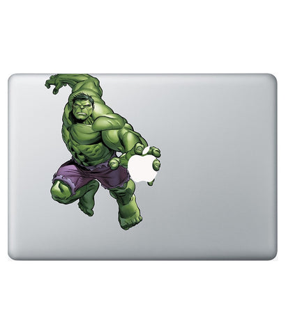 "Hulk in Action - Decal for Macbook 15"" Retina - Posterboy"