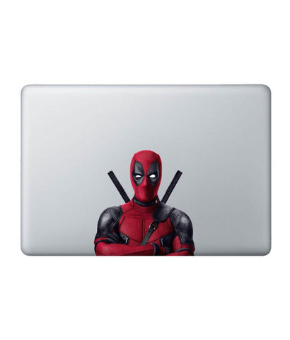 "Deadpool Stance - Decal for Macbook 15"" - Posterboy"