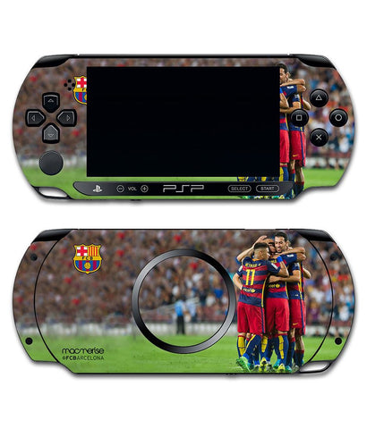 FCB Celebration - Skin for Sony PSP - Posterboy