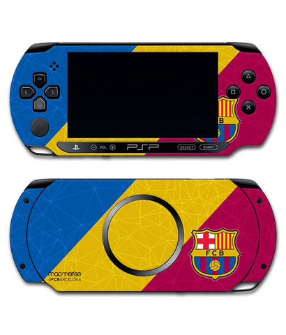 FCB Colour Blocks - Skin for Sony PSP - Posterboy