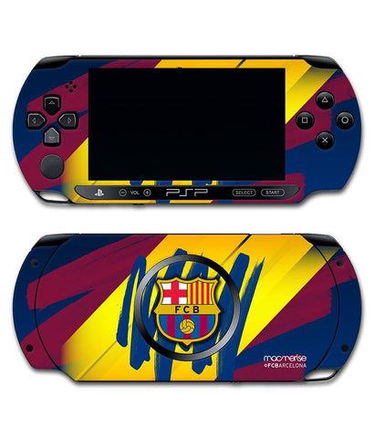 FCB Colour Strokes - Skin for Sony PSP - Posterboy