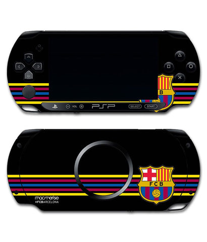 FCB Stripes Black - Skin for Sony PSP - Posterboy