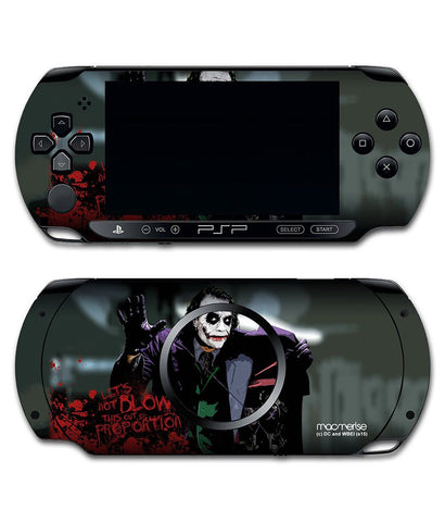 Blow out - Skin for Sony PSP - Posterboy