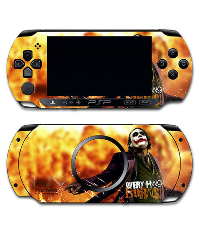 Everything Burns - Skin for Sony PSP - Posterboy