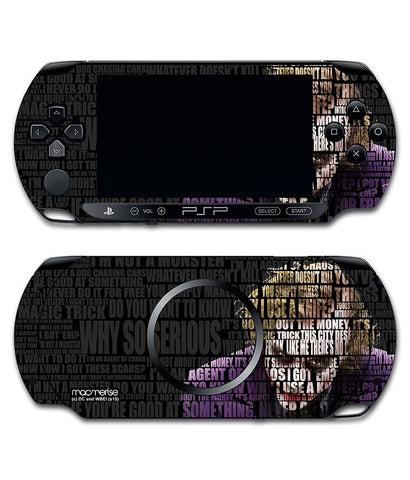 Joker Quotes - Skin for Sony PSP - Posterboy