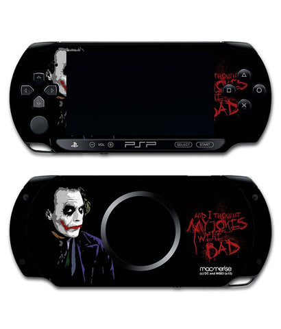 Jokers Sarcasm - Skin for Sony PSP - Posterboy