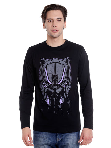 Black Panthar Full Sleeve T-shirt