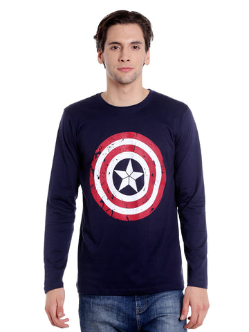Captain America Full Sleeve T-shirt