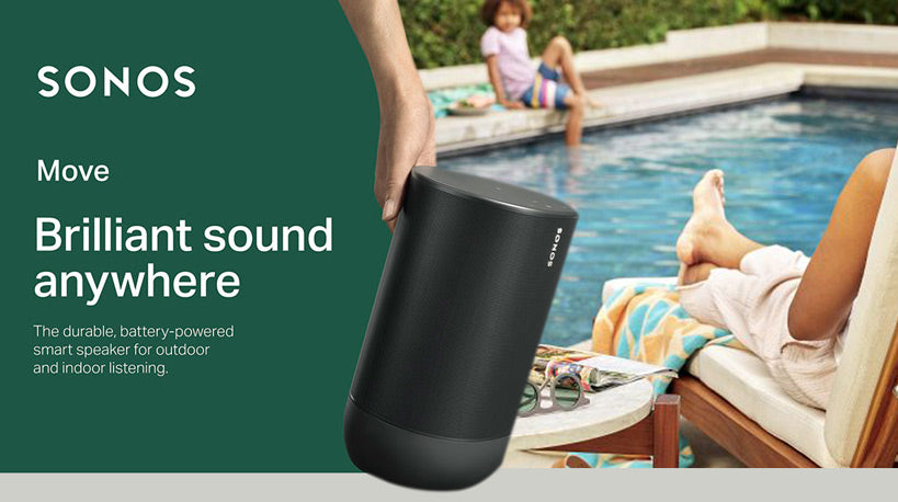 Sonos Move - Brilliant Sound Anywhere