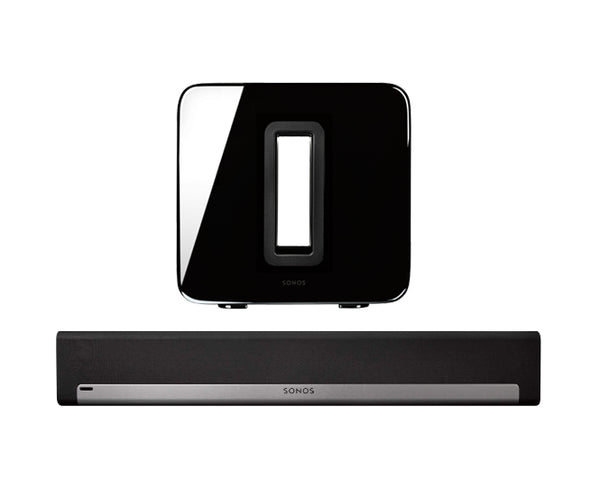 Sonos Playbar + Sub Pack - Buy together and pay only $1 for installation and set up (T&C's APPLY)