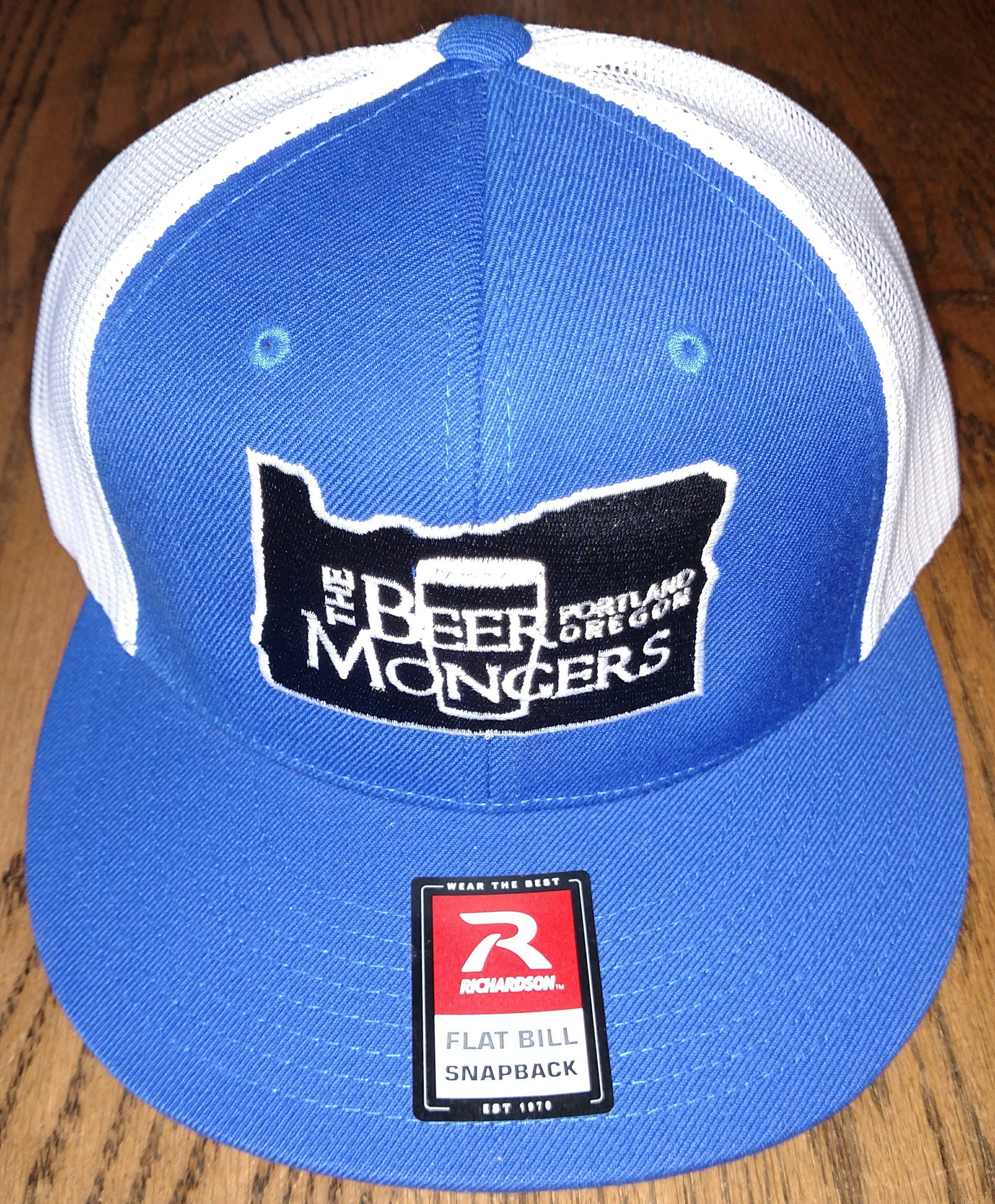 26cc5e8a36e88 The Beer Mongers Flatbill Trucker Hat (Multiple Colors) ...