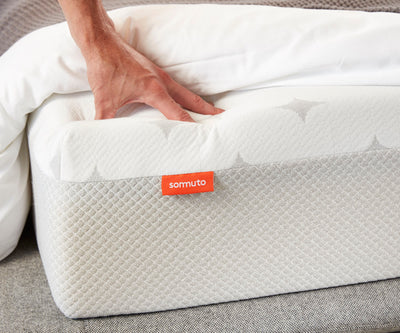 Sommuto Mattress washable cover keeps you cool and dry.