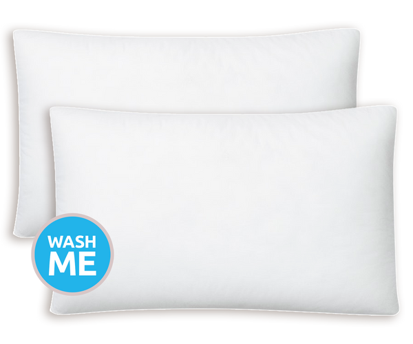 somnio clean memory foam pillow twin pack buy online today. Black Bedroom Furniture Sets. Home Design Ideas