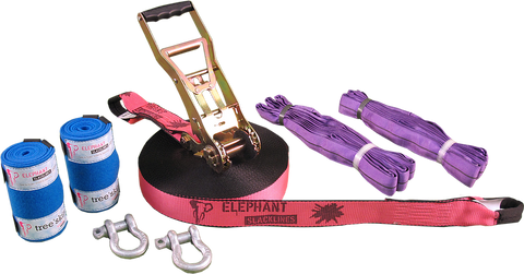 Elephant Slacklines Freak 15m - Rock, Stock and Barrel