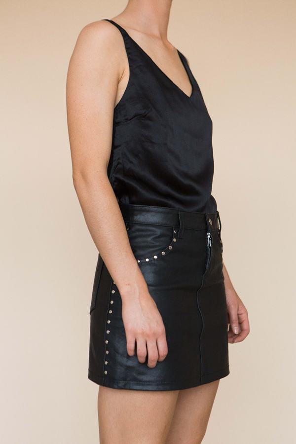 The Cami - Black Silk