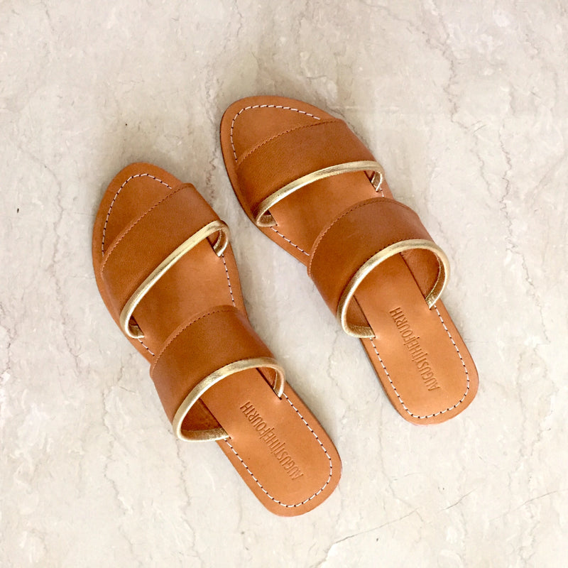 CAPRI Slides - Tan & Gold