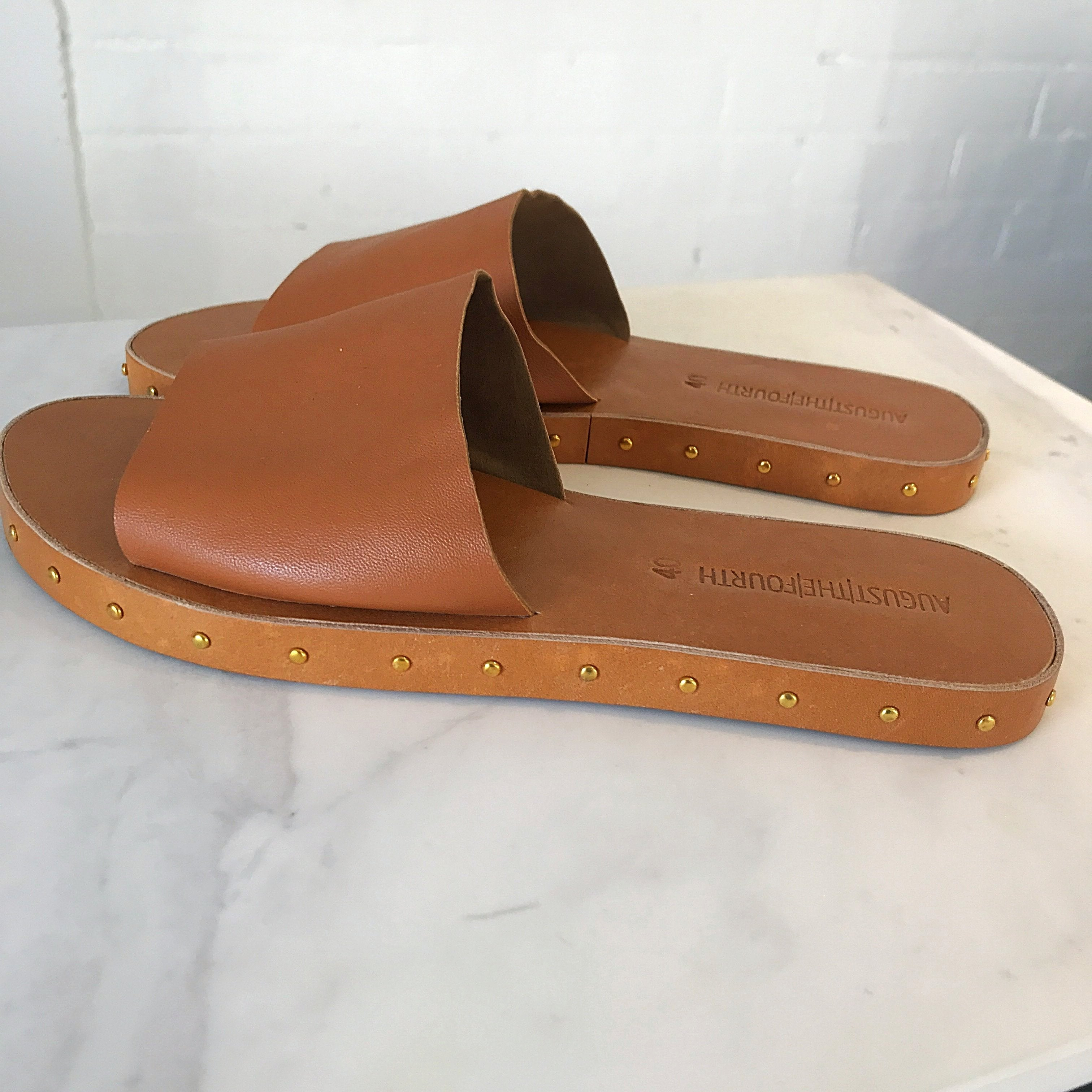 BERLIN Slippers - Tan