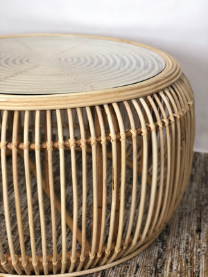 Handmade rattan table cane
