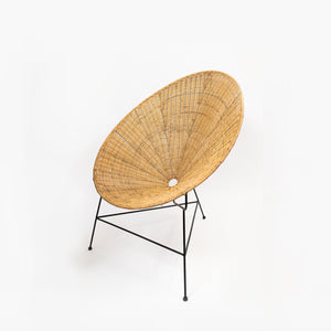 Chair Acapulco Rattan Oval