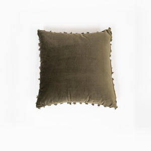 Cushion Belmore Olive 50x50